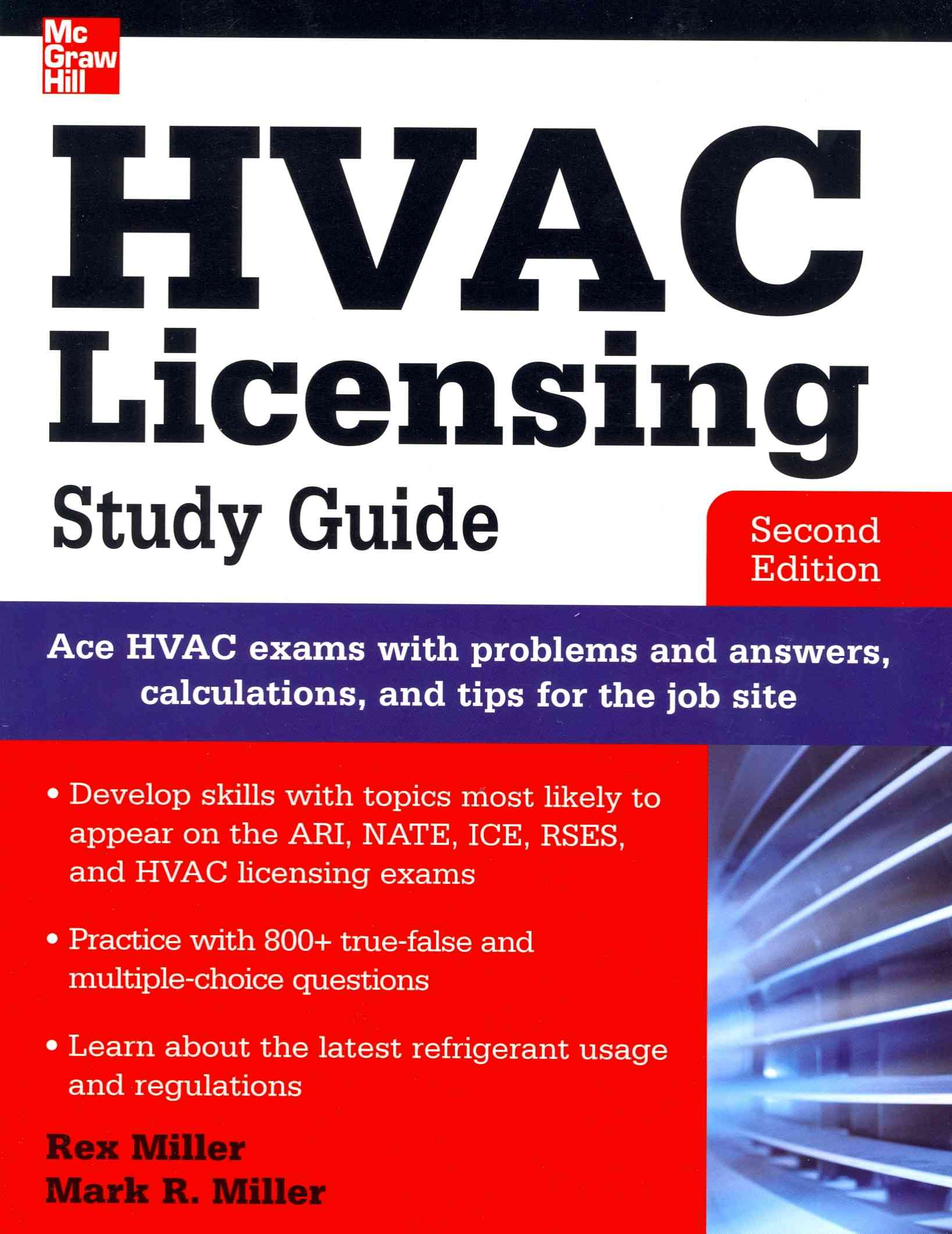 Hvac Licensing By Miller, Rex/ Miller, Mark [Study Guide Edition]
