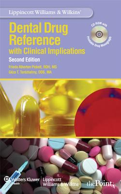 Dental Drug Reference By Pickett, Frieda Atherton/ Terezhalmy, Geza T.